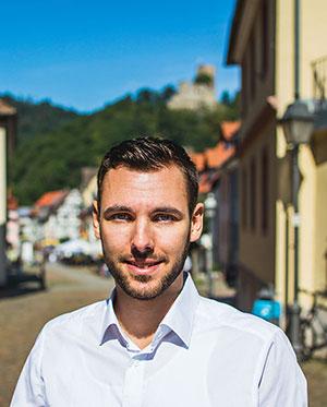 Marius Schmieder, Geschäftsführer Hörsysteme Schmieder in Waldkirch